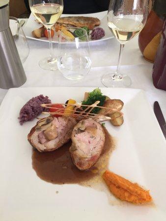 Sablet, France: plats principaux