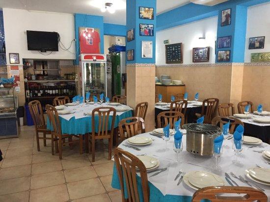 Porto Brandao, โปรตุเกส: Super gegeten, wel even zoeken, maar bezoek meer dan waard!