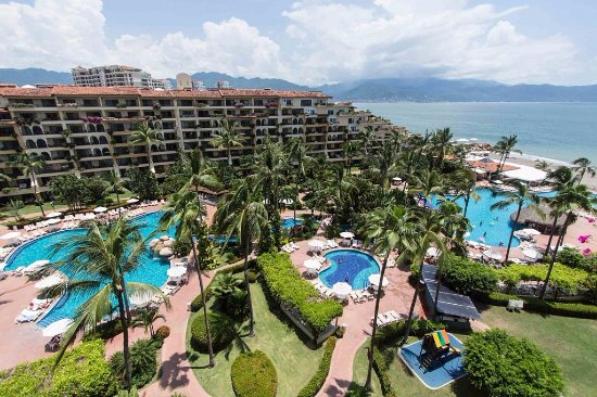 Velas Vallarta: Panoramic of Hotel
