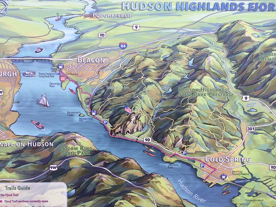 Beacon, Nowy Jork: plans for trails thru the highlands