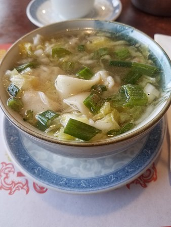 Lansing, IL: Hot wonton soup