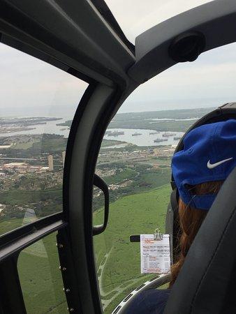 Blue Hawaiian Helicopters - Oahu: Headed toward Pearl Harbor