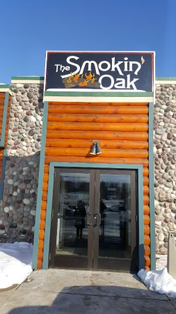 The Smokin Oak Rotisserie & Grill: out front