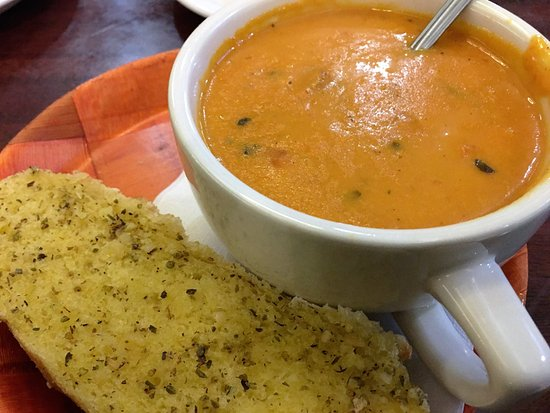Cary, NC: The outstanding tomato bisque!