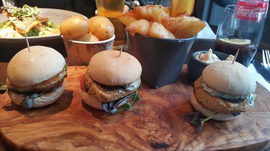Rawtenstall, UK: avoid those falafel burger
