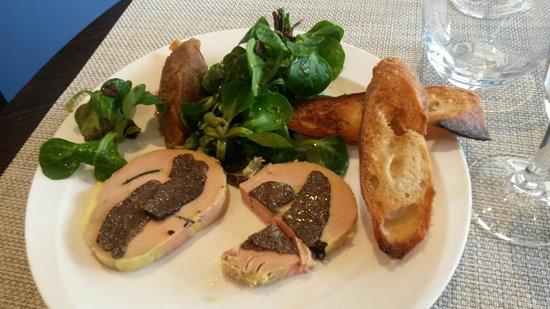 Ile-de-France, Francia: foie gras aux truffes