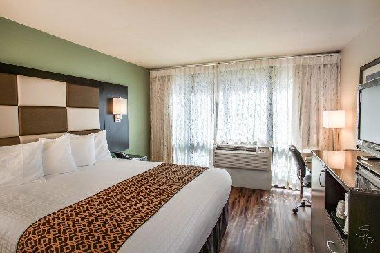 Bay Park Hotel : KING BED