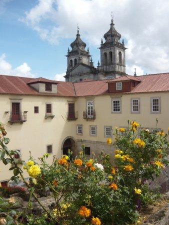 Mosteiro de São Martinho de Tibães: Vista desde la ventana de la habitación