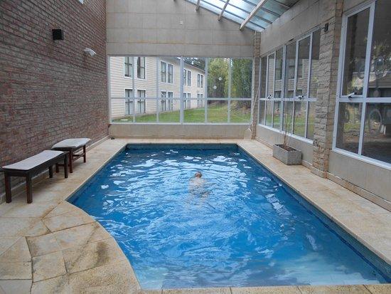 Kalenshen Hotel - Cerro Calafate: piscina cubierta en el sector del spa