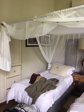 Pongola, Sydafrika: Amazing bedding.