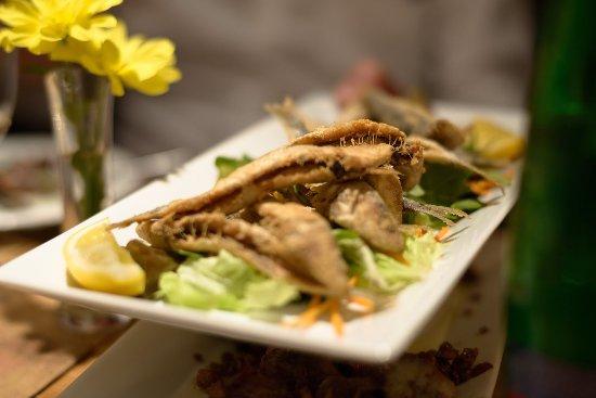 Ichnusa Botega Bistro : Fried Sardines