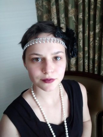 Four Seasons Hotel Vancouver: My daughter getting ready for her Glamour night!