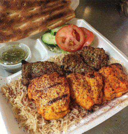 Elk Grove, Kalifornia: Chicken and Beef Tikka Combo to-go
