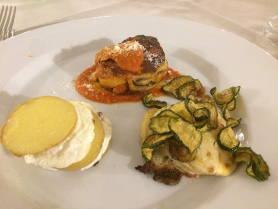 L'Ostrica Ubriaca Restaurant: Verschiedene Lasagne