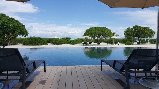 Tetiaroa, بولينيزيا الفرنسية: Resort pool