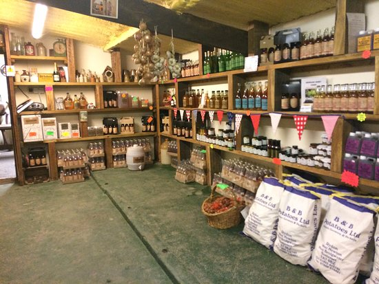 Langport, UK: View Inside The Shop