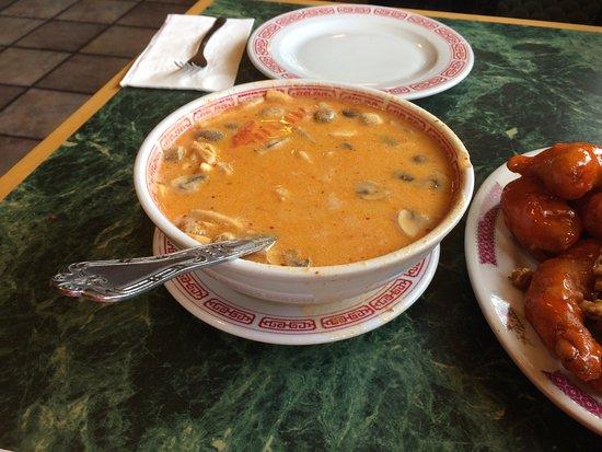 Garberville, Californien: Thai soup