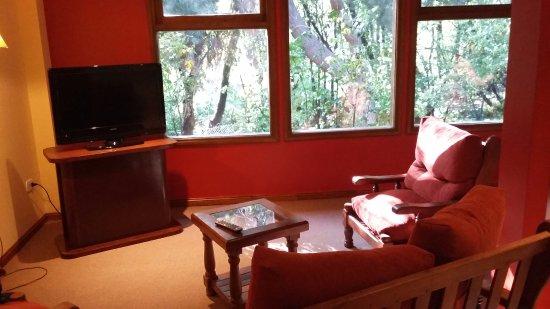 Lar Aike Hotel: un lindo espacio para esperar cuando ya estas regresando, la pc funciona lenta