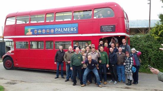 Langport, UK : Bus Visit
