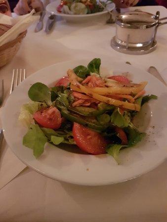 Trattoria Da Fausto: Kleiner Salat