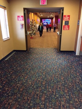 Flandreau, SD: hall to casino