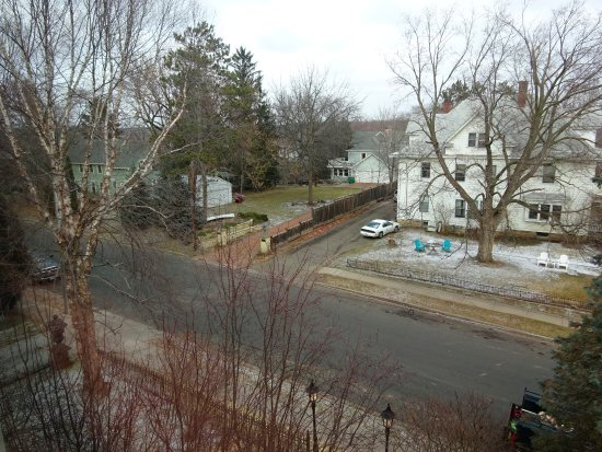 Stillwater, MN: Street view from Tennyson Suite, south side