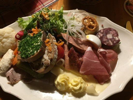 Hotel und Gaststätte zum Erdinger Weissbräu: Abendessen