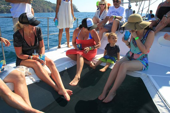 Herradura, Costa Rica: on board by the nets