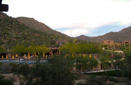 مارانا, Arizona: Room 2710 - Dove Mountain - View from balcony of pool