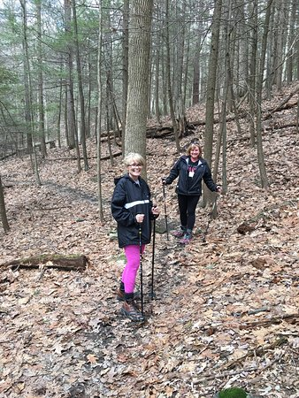 Kripalu Center for Yoga and Health: some hiking trails and grounds