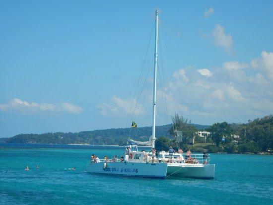 Cool Runnings Catamaran Cruises Jamaica: Catamarans are not at very well shape anymore.