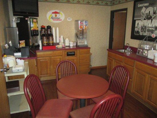 Milbank, Dakota Południowa: Freen breakfast nook