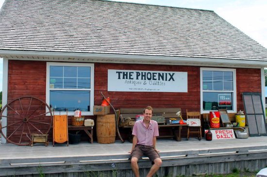Saint Peters Bay, Kanada: An exterior view of The Phoenix