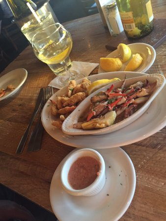 Spanish Fort, Алабама: Fried and Broiled Crab Claws