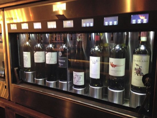 self serve wine machine