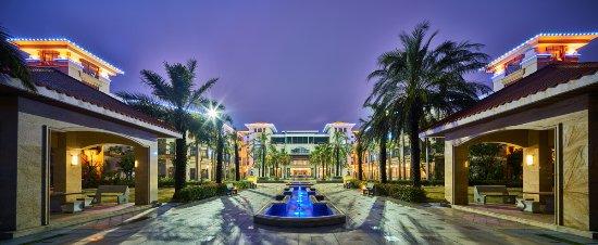 Wanda Realm Xiamen North Bay: 酒店中庭