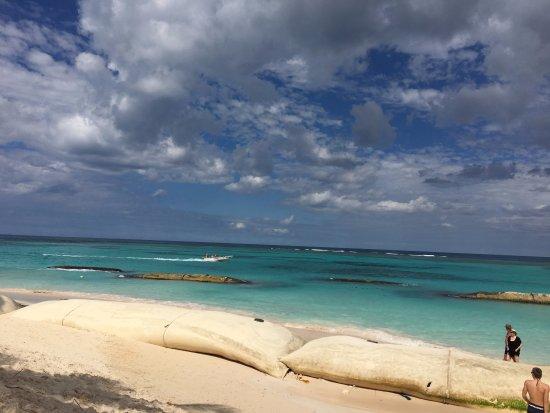 Ocean Blue Sand Bags Everywhere