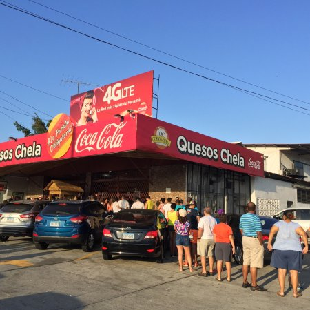 Capira, Panama/Panamá: Quesos Chela