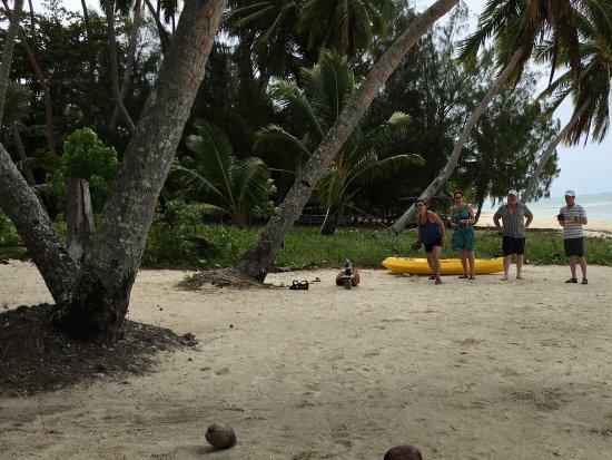 Amuri Sands, Aitutaki: Coco Bocci tournament time