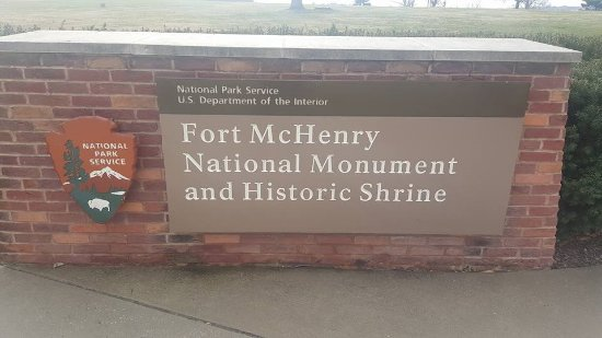 Fort McHenry National Monument: Entrance to the Fort