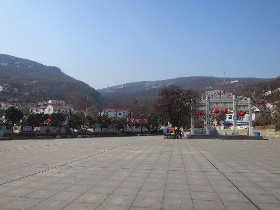 Lianyungang, China: 風景遊覧区遠望