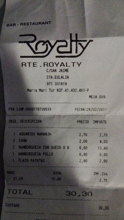 Cafeteria Royalty: EL TIMO POR NO COMER