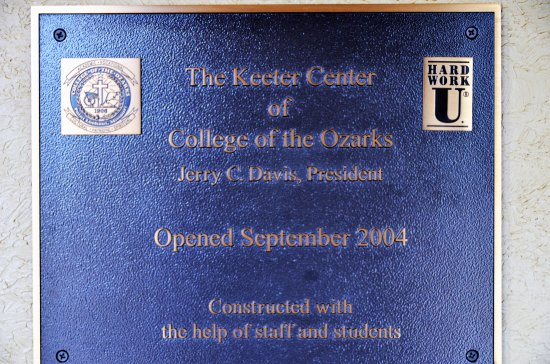 Point Lookout, MO: The Keeter Center at College of the Ozarks