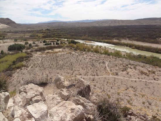 Alpine, TX: overlook view of the Nature trail near Boquillas canyon