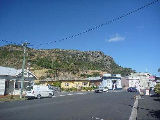Some of the buildings in Stanley.