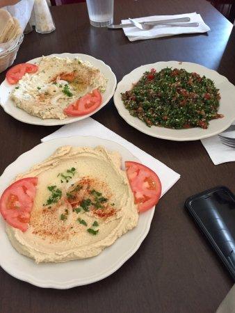 Old Jerusalem Restaurant : Our meal