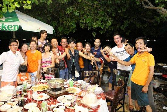 Ganh Hao : dinner