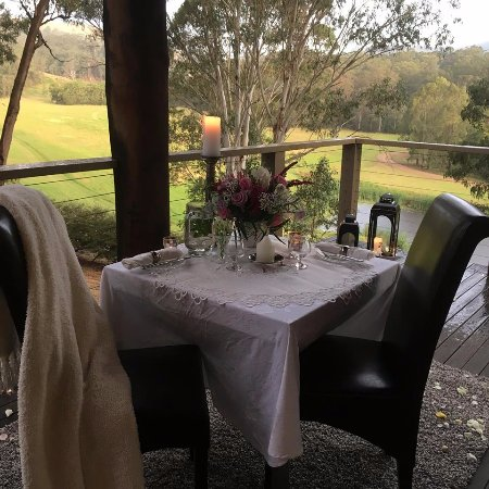 Cedars Mount View: Proposal dinner with Private Chef