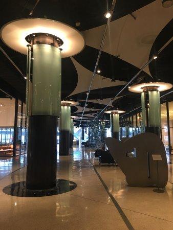 Pacific Design Center: Gleaming interior