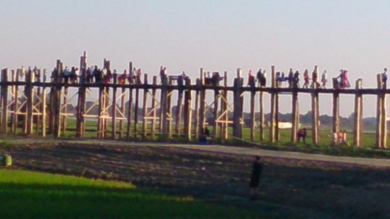 U Bein Bridge: Afternoon